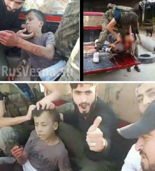 Pri posledných pokusoch o prebitie sa z kotla jednotky sýrskej armády zlikvidovali teroristov z an-Zinki, ktorí zavraždili 13 chlapca