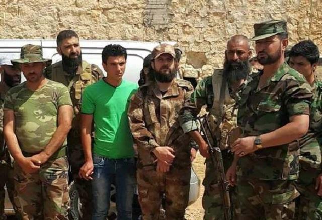 Na snímke členovia Tiger Force v oblasti Mallach. V popredí generál Suheil al Hassan, veliteľ Tiger Force Foto: rusvesna.ru