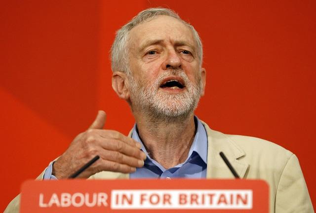 Britský opozičný líder Jeremy Corbyn