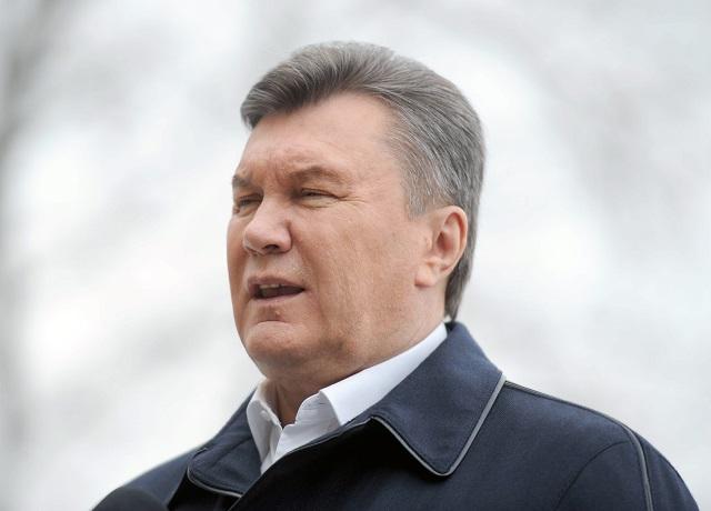 Na archívnej snímke Viktor Janukovič Foto: Pavol Ďurčo
