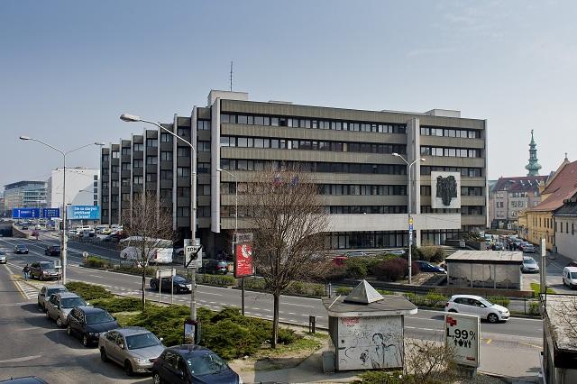 Na snímke budova Ministerstva spravodlivosti SR