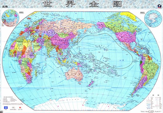 Kartograficke Znasilnenie Cina Vydala Novu Mapu Sveta V Ktorej