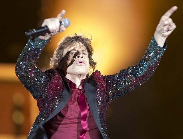 Na snímke Mick Jagger