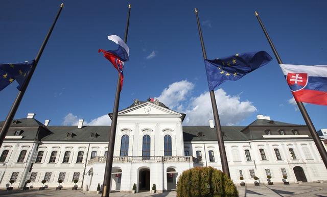 Na snímke Prezidentský palác Slovenskej republiky