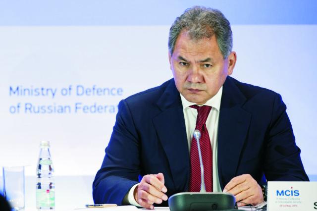 Ruský minister obrany Sergej Šojgu