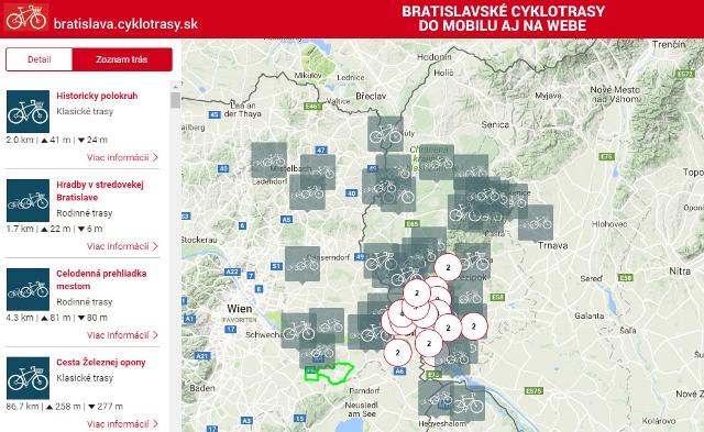 Bratislavské cyklotrasy
