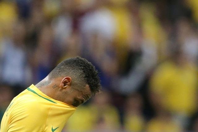 Na snímke Brazílčan Neymar