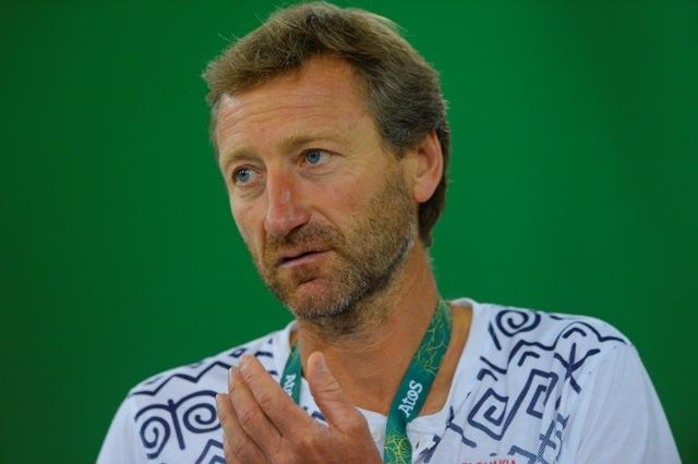 Na snímke vedúci slovenskej tenisovej výpravy Miloslav Mečíř
