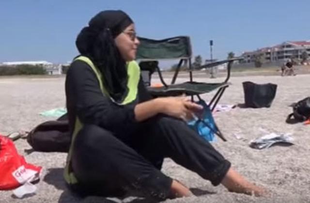 Moslimské plavky - burkini
