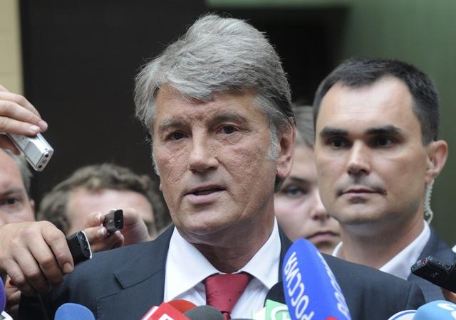 Na snímke bývalý ukrajinský prezident Viktor Juščenko