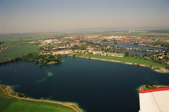 Ilustračné foto:Senecké jazero zo vzduchu