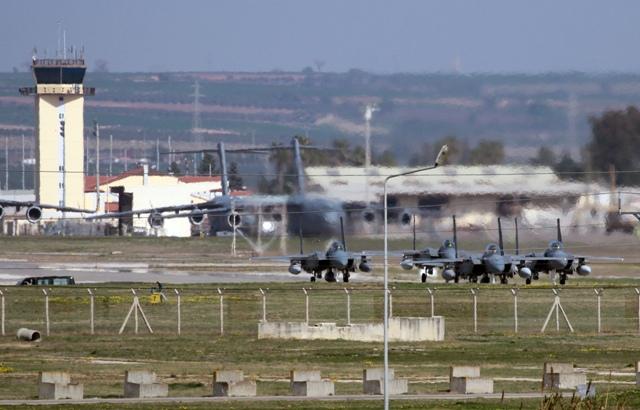 Na snímke vojenská letecká základňa Incirlik