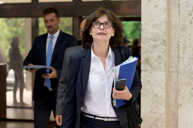 Na snímke podpredsedníčka vlády SR a ministerka spravodlivosti SR Lucia Žitňanská