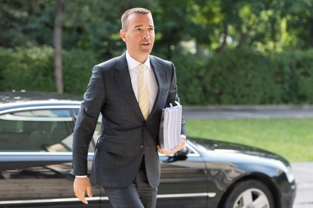 Na snímke  minister zdravotníctva SR Tomáš Drucker