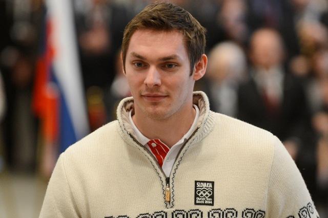 Na snímke hokejista Juraj Mikúš