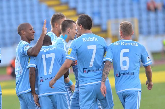 Ilustračné foto: futbalisti Slovana