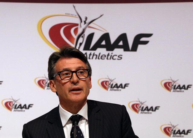 Na snímke prezident Medzinárodnej asociácie atletických federácií (IAAF) Brit Sebastian Coe