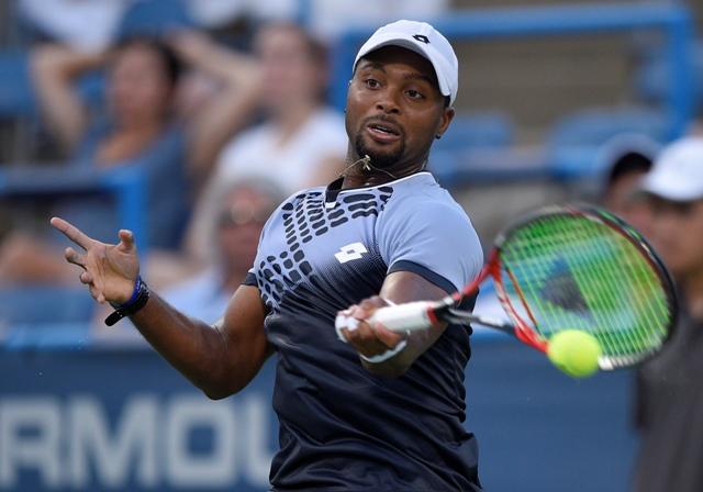 Na snímke americký tenista Donald Young
