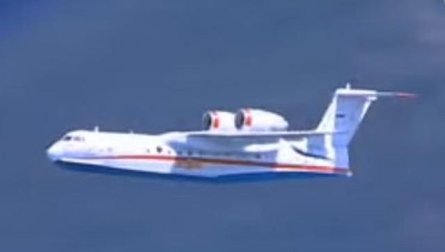 Ruské lietadlo Beriev Be-200