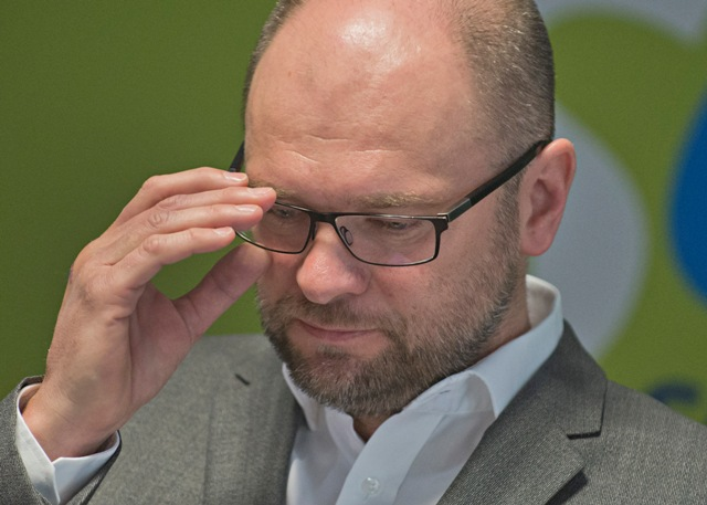 Na snímke predseda strany Sloboda a solidarita (SaS) Richard Sulík
