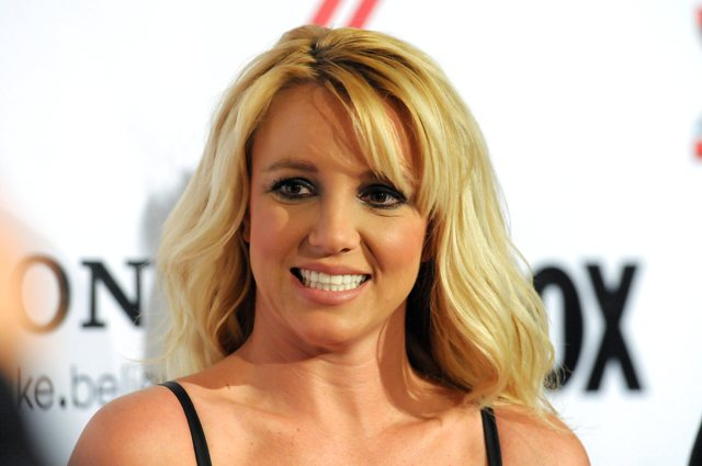 Na snímke americká speváčka Britney Spearsová