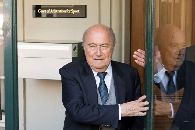 Na snímke bývalý šéf Medzinárodnej futbalovej federácie (FIFA) Sepp Blatter