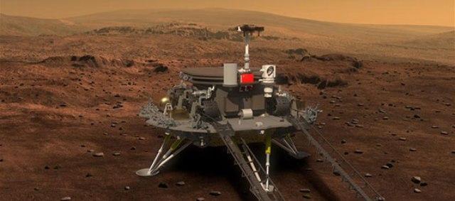 Čína zverejnila prvé snímky luneárneho vozidla Mars rover