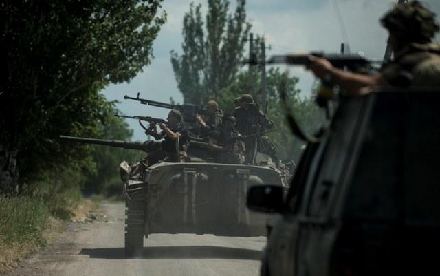 Ilustračné foto: ukrajinskí vojaci