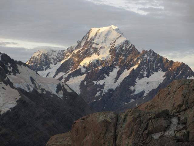 Ilustračné foto: pohľad na najvyšší vrch Nového Zélandu Mount Cook