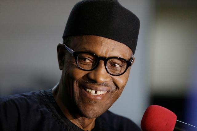 Na snímke nigérijský prezident Muhammadu Buhari