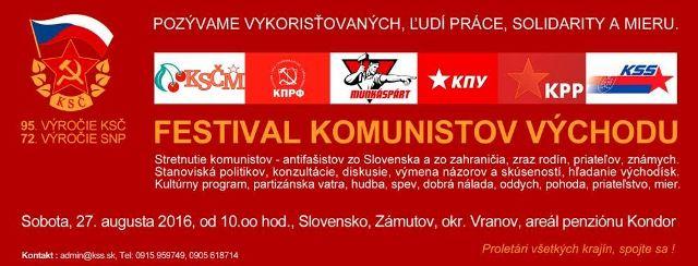 Festival komunistov východu