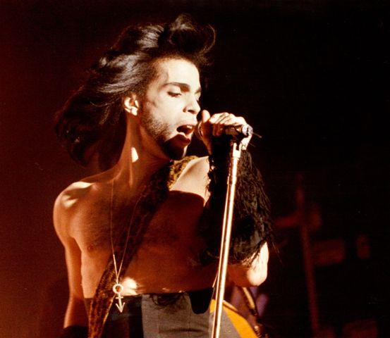 Na snímke americký spevák Prince