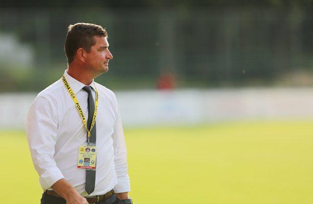 Na snímke tréner Marek Fabuľa (Podbrezová)