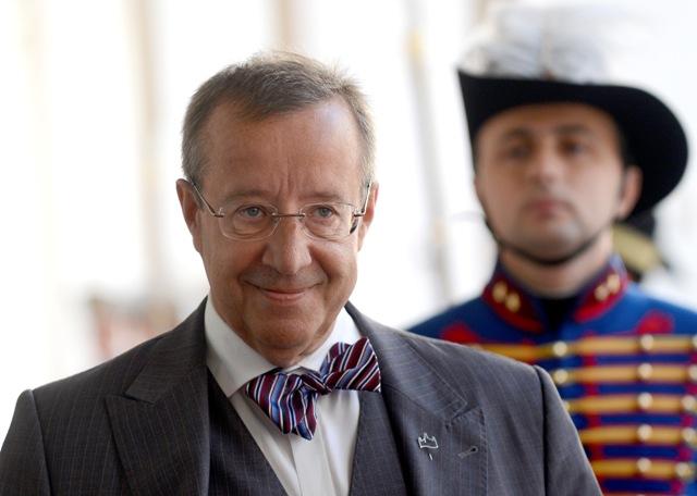 Na snímke prezident Estónskej republiky Toomas Hendrik Ilves