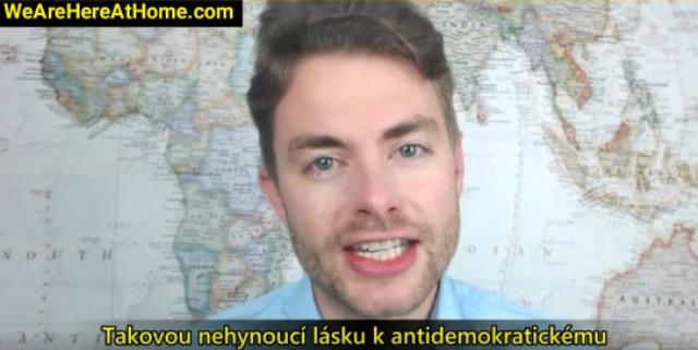 Moderátor z videa