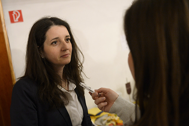 Na snímke europoslankyňa Jana Žitňanská