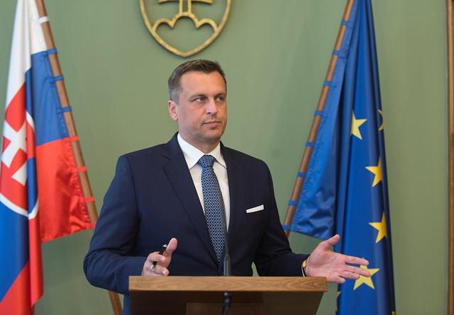 Na snímke predseda NR SR Andrej Danko