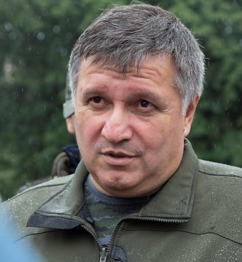 Na snímke Arsen Avakov