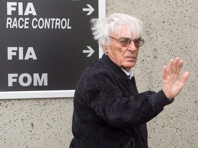 Na snímke šéf F1 Bernie Ecclestone