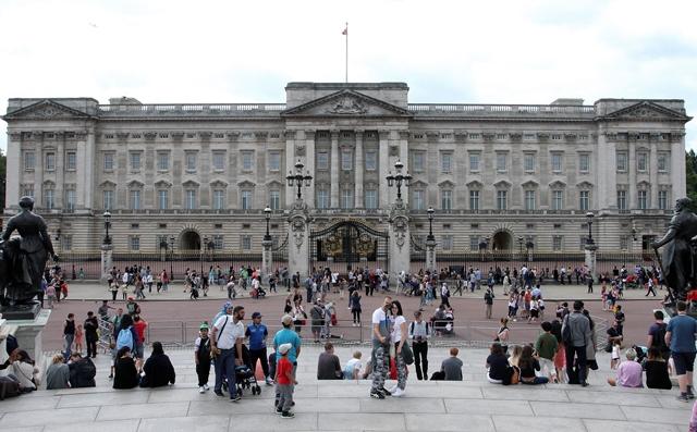 Na snímke Buckinghamský palác