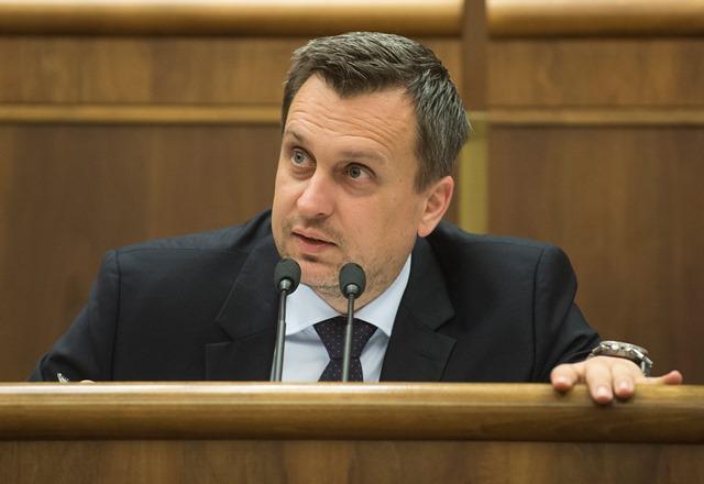 Na snímke predseda NRSR Andrej Danko