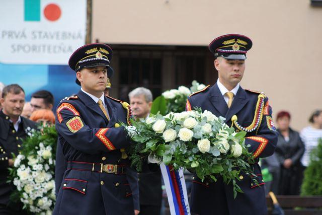 Na snímke príslušníci Čestnej stráže prezidenta SR