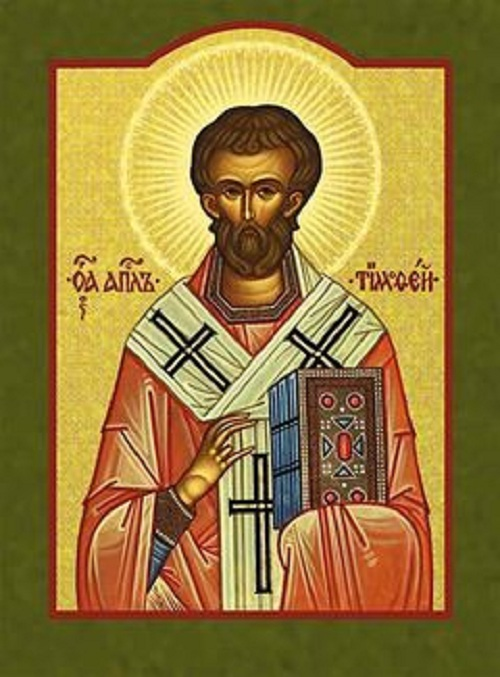 Ikona. Svätý Timotej, biskup a mučeník