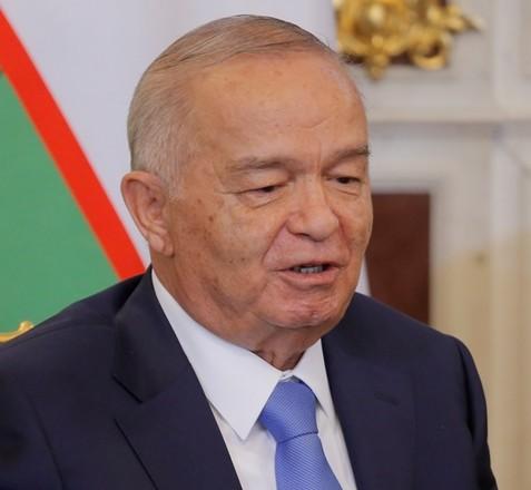 Na snímke Islam Karimov