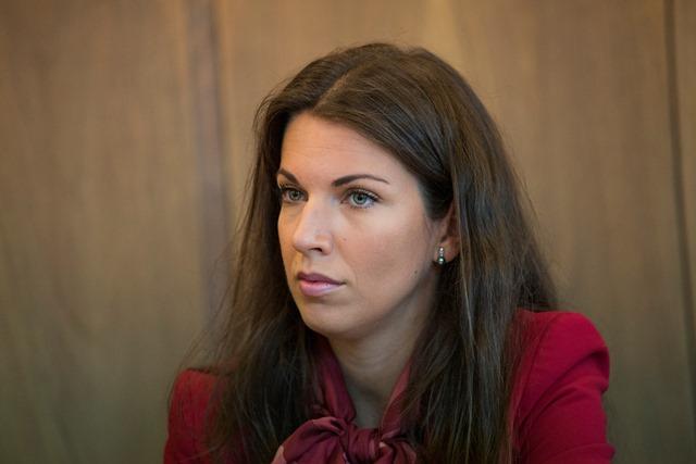 Na snímke podpredsedníčka Výboru NR SR pre európske záležitosti Katarína Cséfalvayová