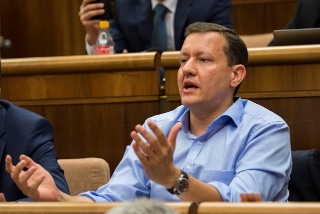Na snímke poslanec NR SR Daniel Lipšic (OĽaNO-NOVA)