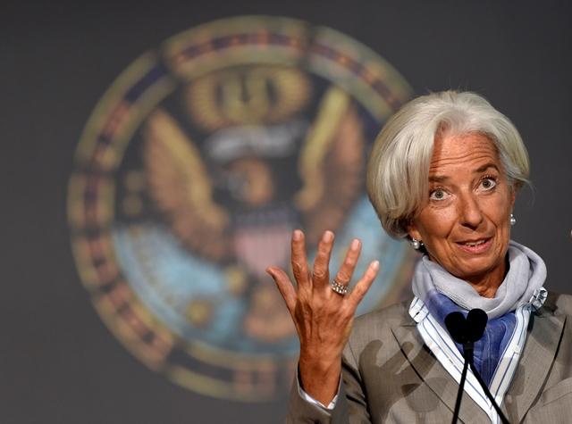 Šéfka Medzinárodného menového fondu (MMF) Christine Lagardeová