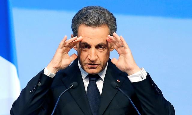Na snímke Nicolas Sarkozy