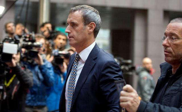 Na snímke riaditeľ Europolu Rob Wainright