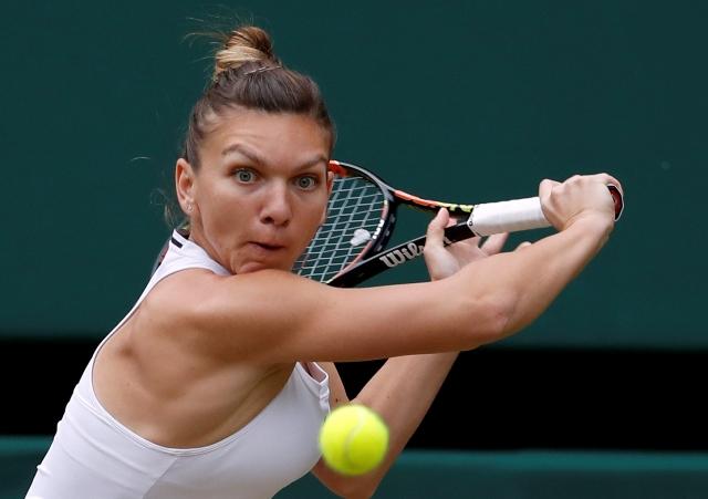 Na snímke rumunská tenistka Simona Halepová